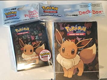 Eevee ULTRA PRO deck box CARD BOX FOR POKEMON CARDS