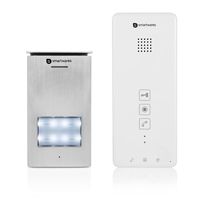 1 opinioni per Unità interfonica per interni Smartwares DIC-21112- Audio 2 vie- Facile