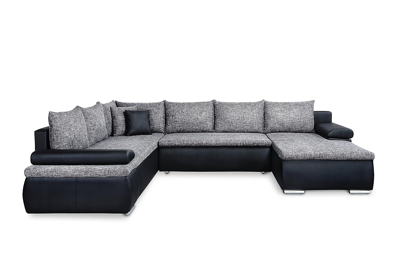 u form wohnlandschaft g nstig online kaufen. Black Bedroom Furniture Sets. Home Design Ideas