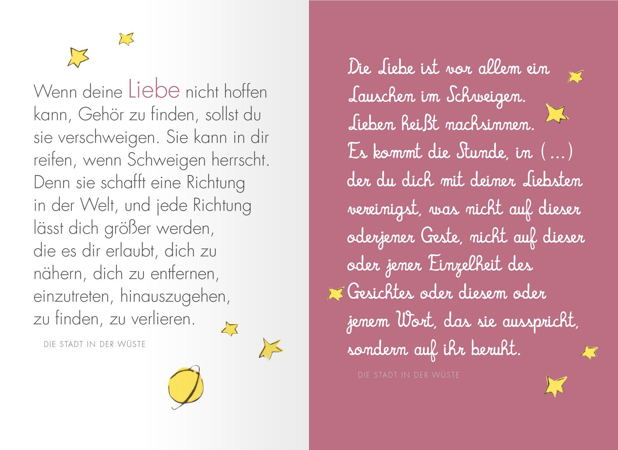 Liebe Die Schönsten Zitate Von Antoine De Saint Exupéry
