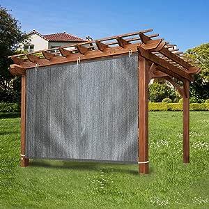 Ecover - Panel de Sombra Ajustable para pergola/Porcha/Patio, 90 ...