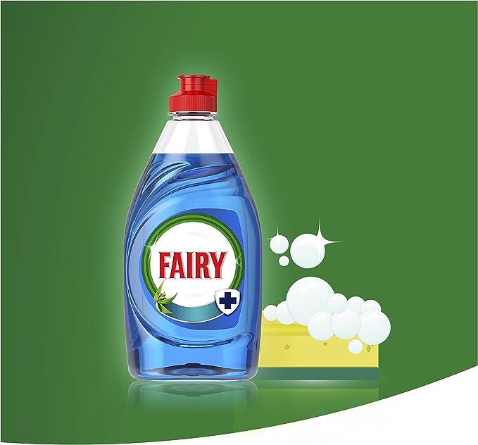 Fairy Extra Higiene Líquido para Lavavajillas Eucalipto - 1015 ml ...