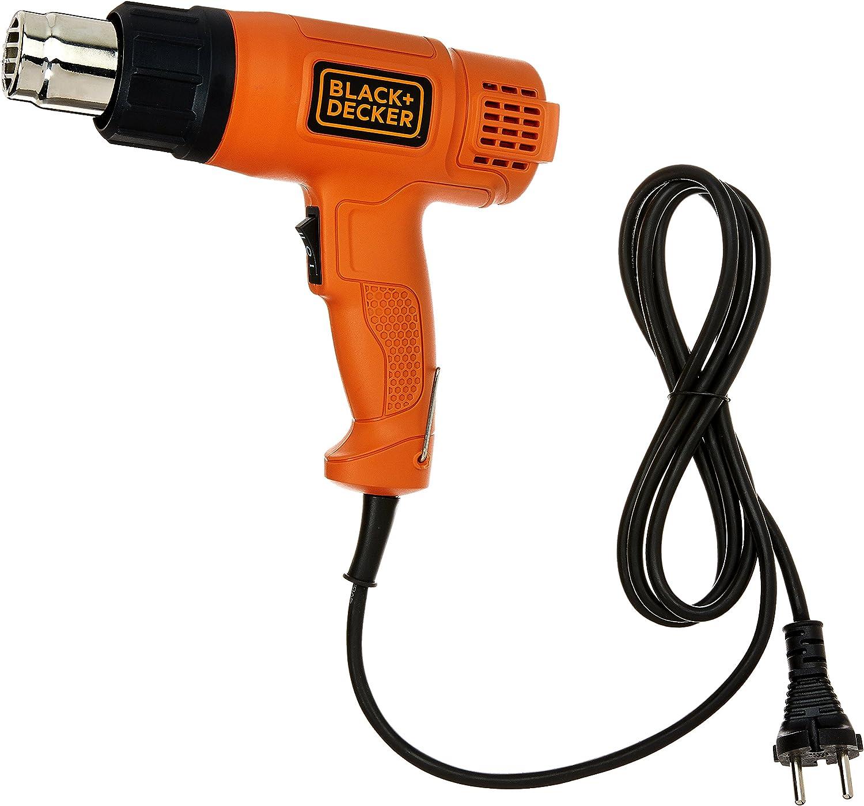 BLACK+DECKER KX1800 1800-Watt Dual Temperature Heat Gun (Orange and Black)