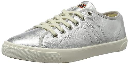 Mia - Zapatillas Mujer, Color Blanco, Talla 37 EU Napapijri