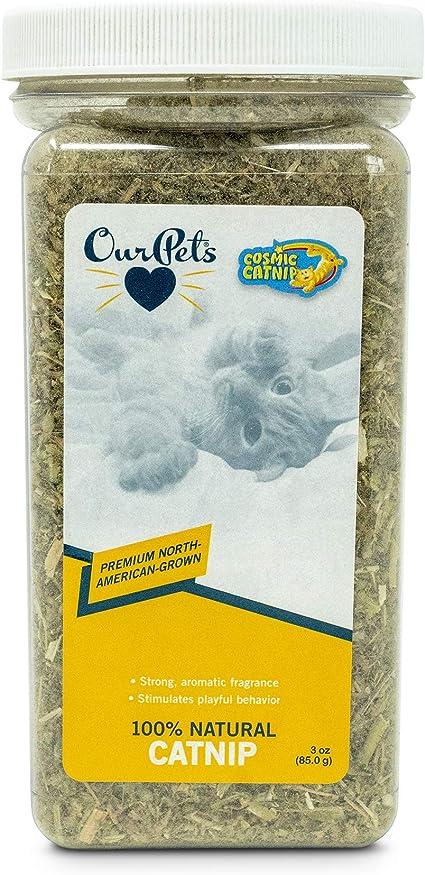 Amazon Com Ourpets Premium North American Grown Catnip Jar 3