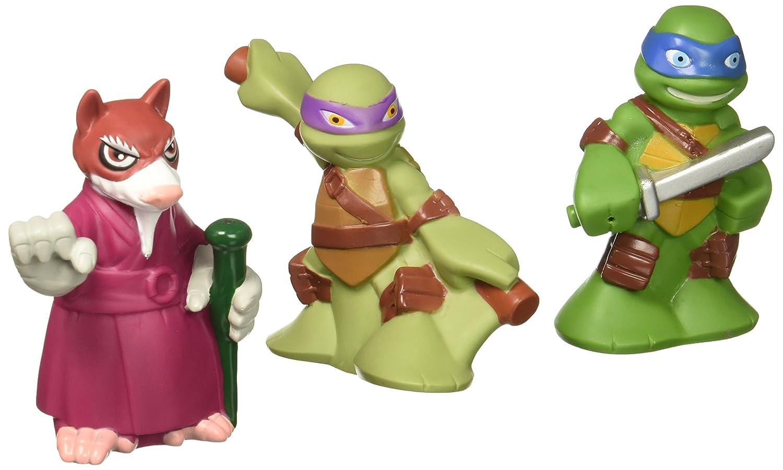 Teenage Mutant Ninja Turtles Pre-Cool Half Shell Heroes Leonardo, Donatello and Splinter Bathtub Squirter Figure (Pack of 3)