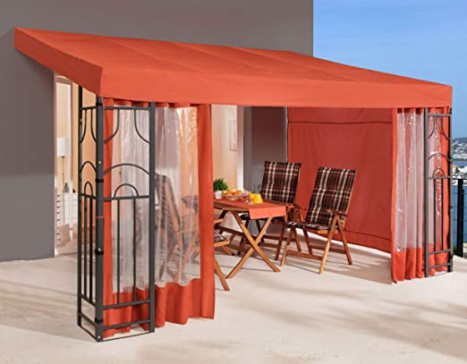 QUICK STAR Romana - Pérgola (3 x 4 m, 3 Laterales), Color ...