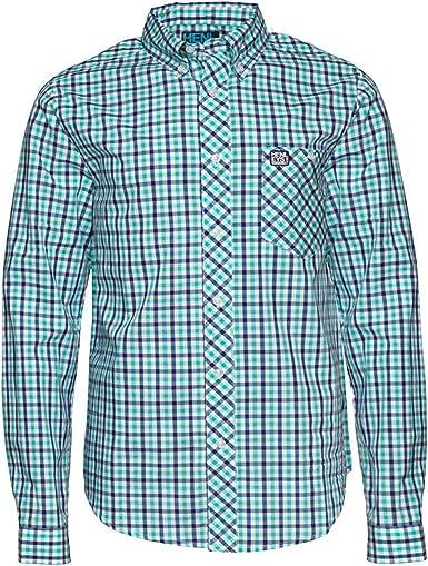 Henleys - Camisa de manga larga para hombre: Amazon.es: Ropa y accesorios
