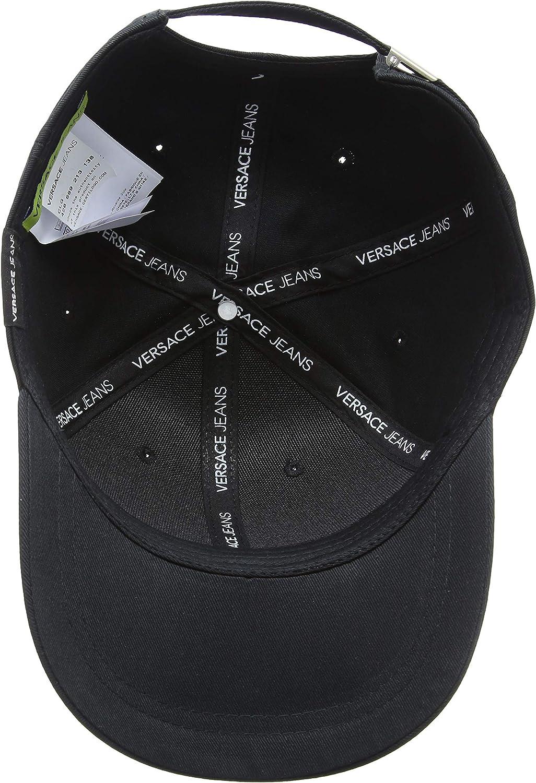 Versace Jeans Hat, Gorra de béisbol para Hombre, Nero El03, única ...