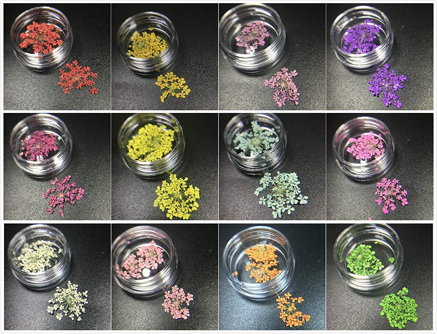 Amazon.com: Joligel Two Part Epoxy Resin Bicomponent AB Hard Type Glue for Crafts Jewelry Making 400ml with 15 Pearlescent Pigments 12 Dried Flowers 12 ...
