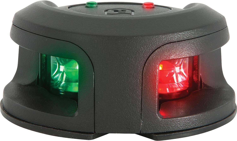 LED Bi-Color Combination Deck Mount Bow Navigation Light for Boats Marine-2 Mile