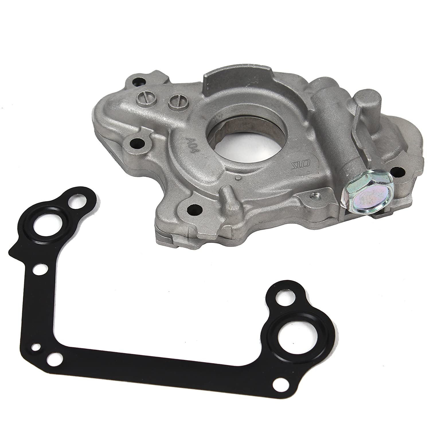 New OP00044-1 Engine Oil Pump & Gasket (Metal) for 98-08 Toyota 1.8L DOHC 1ZZFE 1ZZ-FE Corolla Celica GT Matrix MR2 Spyder / Chevy Prizm Pontiac Vibe Base CNS EngineParts