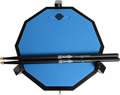 Tromme Drum Practice Pad & Carrying Case – 12 Inches