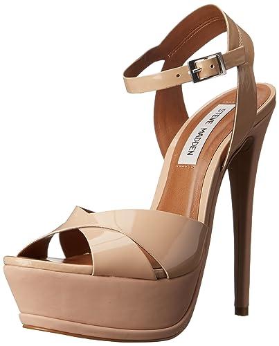 8f7bf21ae78 Amazon.com | Steve Madden Women's Sylva Platform Sandal | Platforms ...