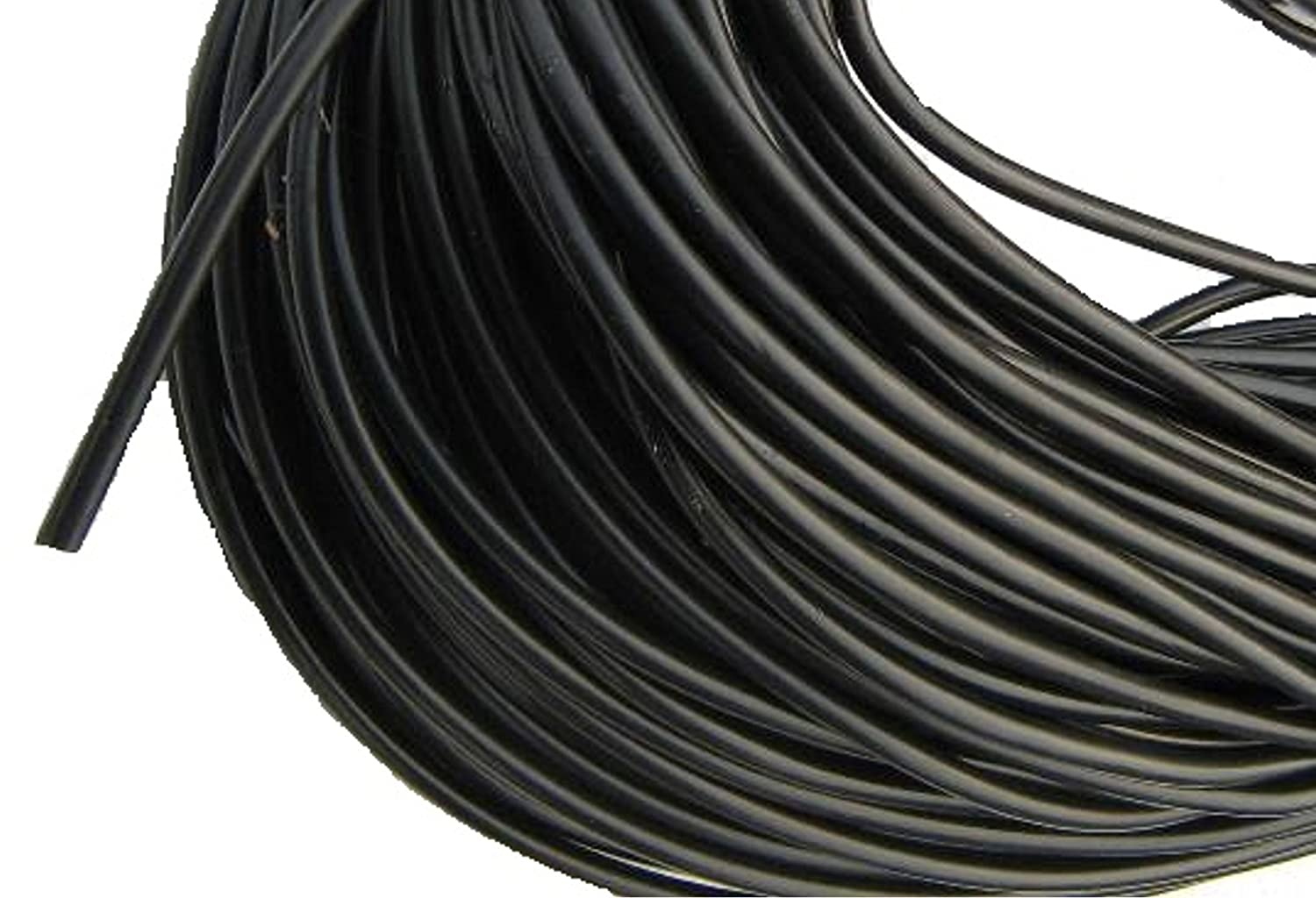 Black,flexible Micro irrigation pipe (4mm x 6mm)1,10,15,20,25,50,100,200m lengths (1M) E-BEST-OFFER
