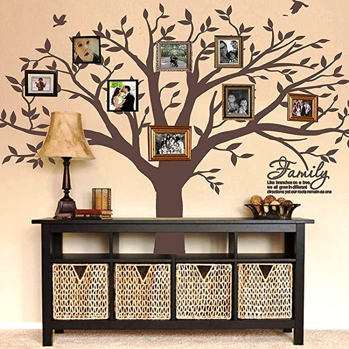 Top 10 Family Tree Photo Wall Decor On Right Side