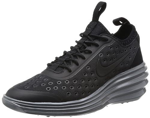new arrival 68174 85ce8 Nike Women s LUNARELITE Sky HI Running Shoes Black Black - Cool Grey Size  10 U.S.