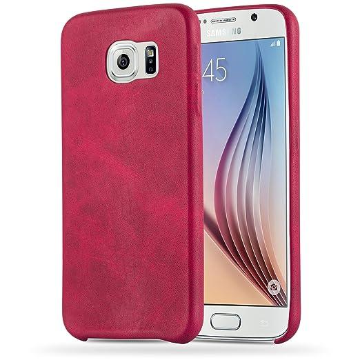 12 opinioni per Cadorabo- Retrò Vintage Samsung Galaxy S6 (NON per EDGE) Hard Cover Slim Case di