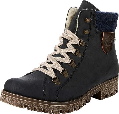 RIEKER DAMEN WINTER Schuhe Stiefel Stiefelette Boots Gr.40