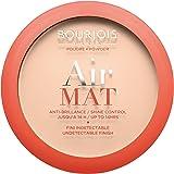 Bourjois, Air Mat compact Powder. 01 Rose Ivory. 10 g - 0.35 floz