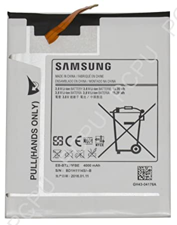 Samsung SM-T230 Galaxy Tab 4 7.0 WiFi, SM-T231 Galaxy Tab 4 7.0 3G, SM-T235 Galaxy Tab 4 7.0 LTE Akku, Battery, Li-Ion, 4000