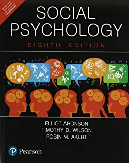 Social psychology: pearson new international edition aronson.
