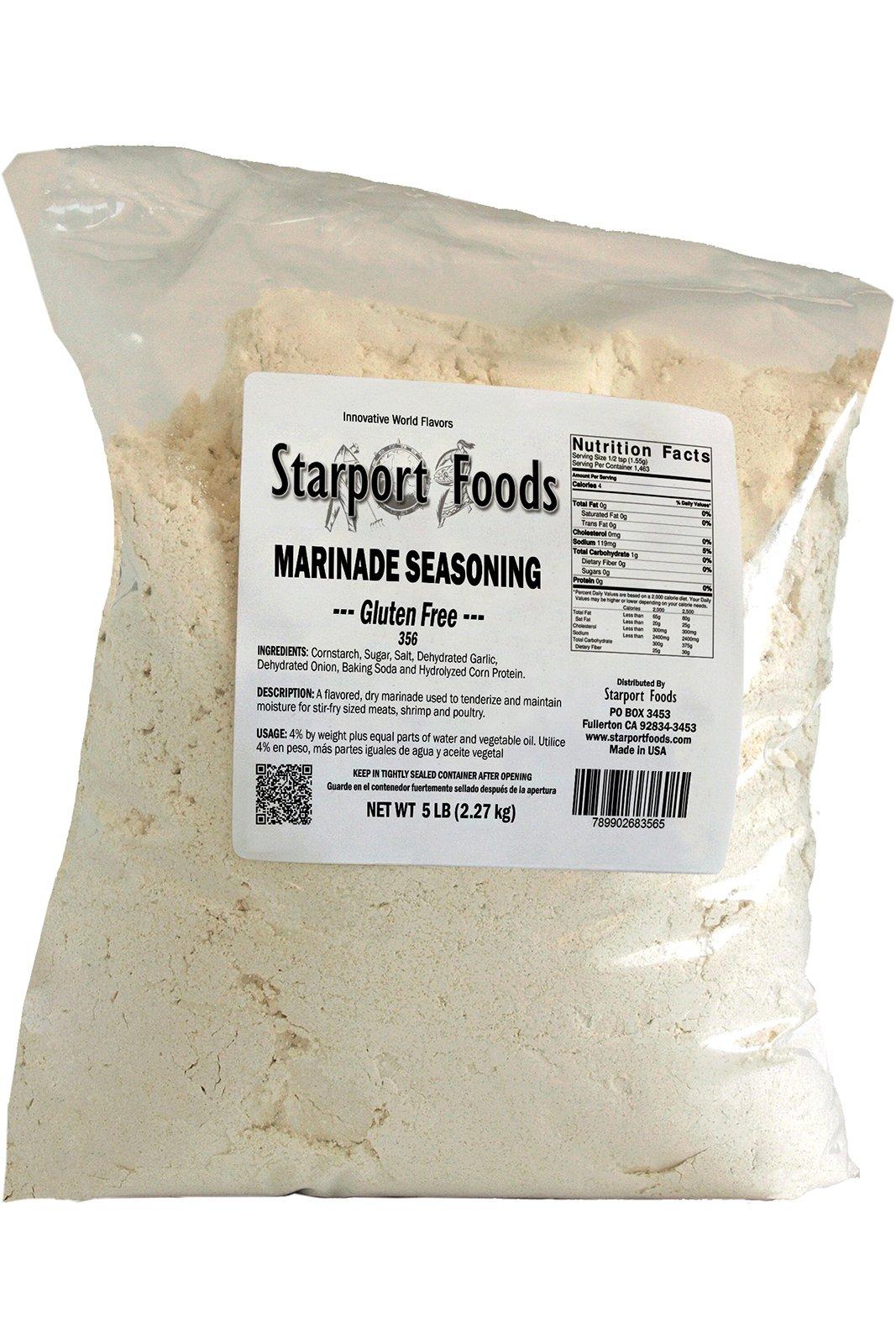Starport Foods Marinade Seasoning - Gluten Free, 5 lb bag