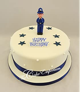 Fine Personalised Police Themed 7 5 Edible Icing Cake Topper Please Funny Birthday Cards Online Hendilapandamsfinfo