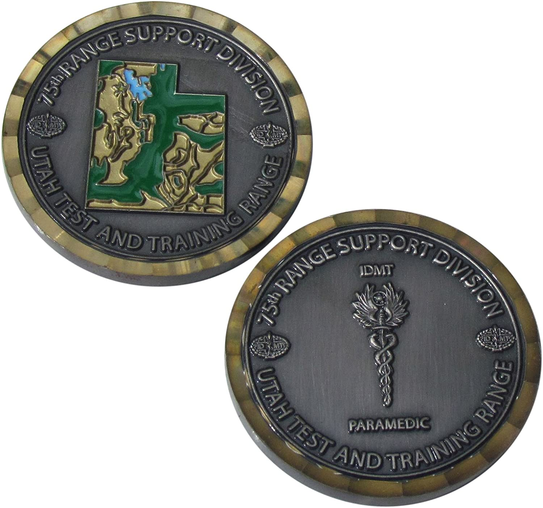 75t範囲サポートDivisionユタChallenge Coin