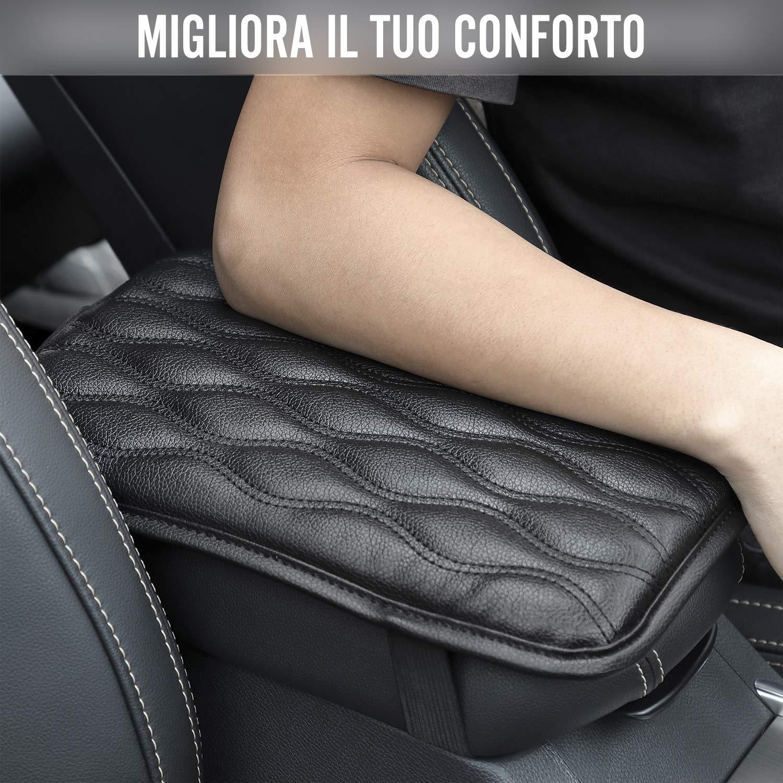 camion protection pour accoudoir de voiture Seven Sparta coussin accoudoir centrale universel pour la plupart des v/éhicules voiture SUV imperm/éable Coussin pour accoudoirs Noir