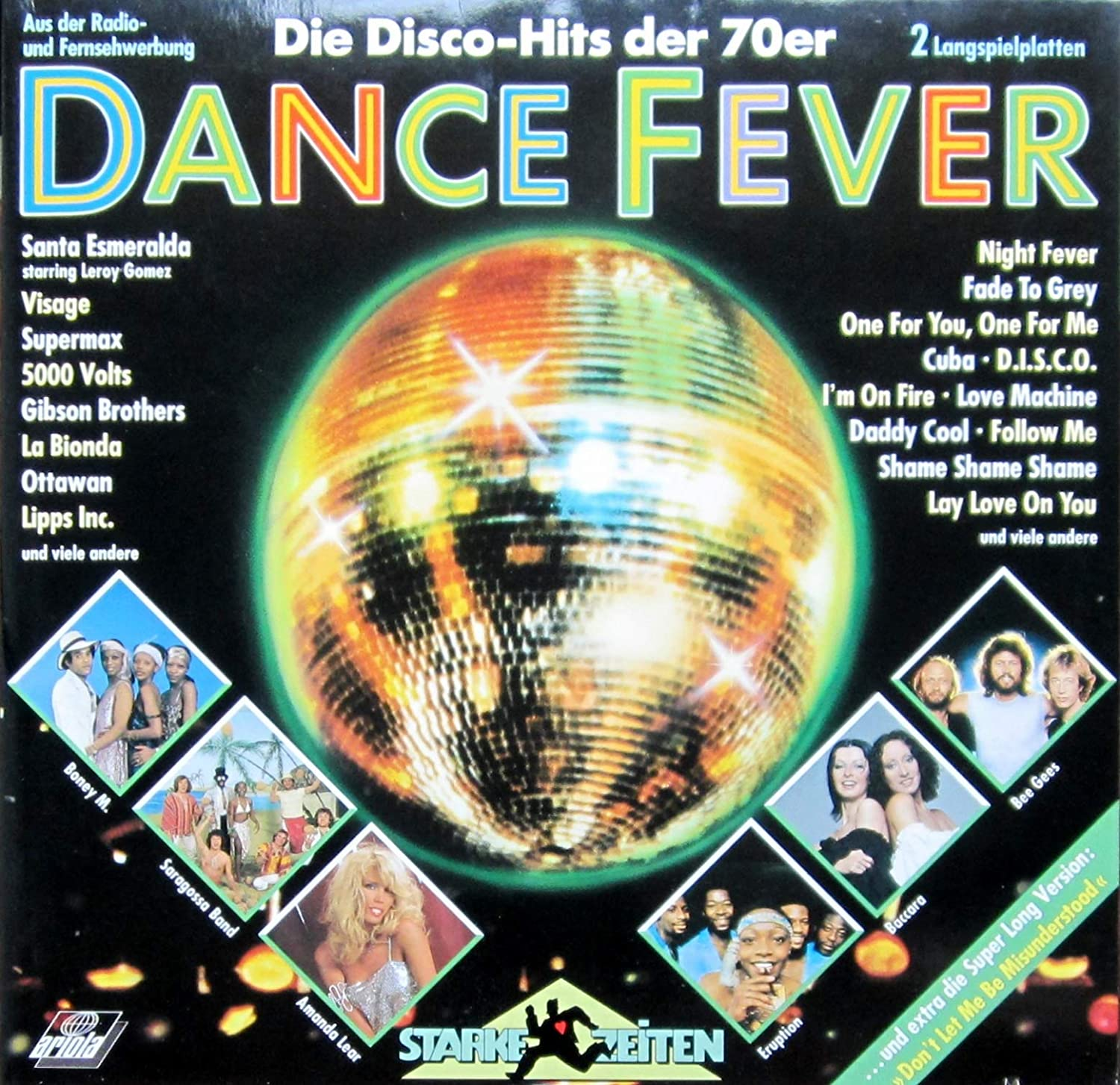 Various Dance Fever Die Disco Hits Der 70er Ariola 303 359 Amazon Com Music