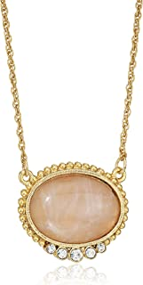 product image for 1928 Jewelry 14k Gold-Dipped Pink Moonstone Pendant Necklace