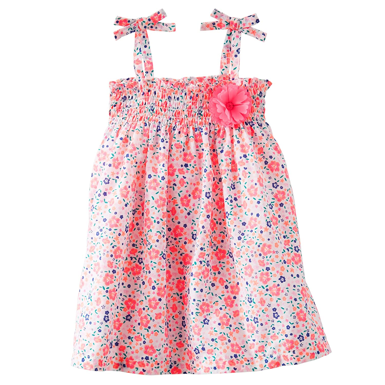 Baby Bgosh Girls 2-Piece Floral Dress Newborn