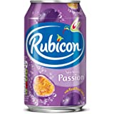 Rubicon Passion Sparkling Drink 330 ml (Pack of 24)