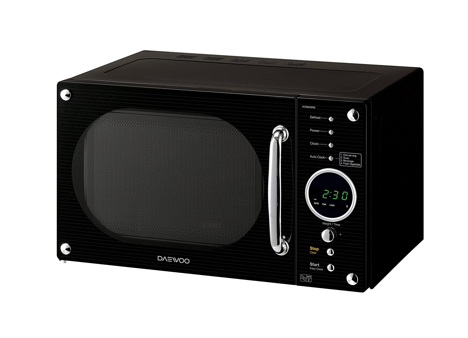 Daewoo 23l Freestanding 800w Retro Style Touch Control