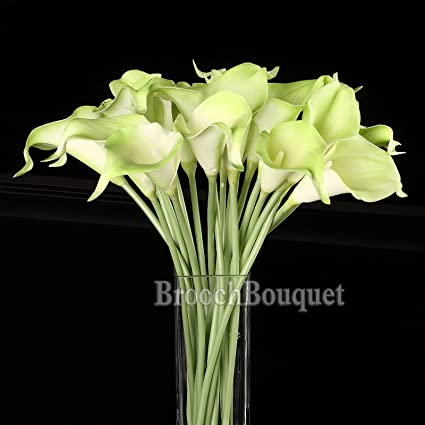 Amazon high quality silk flowers diy bouquet artificial real high quality silk flowers diy bouquet artificial real like lily calla bride wedding home party decoration mightylinksfo