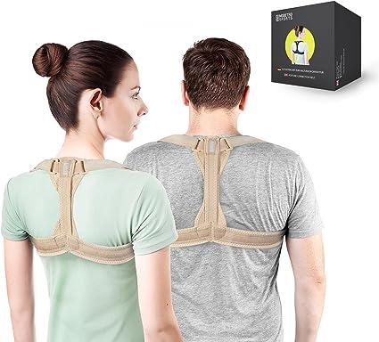 ideal zur Therapie f/ür haltungsbedingte Nacken R/ücken und Schulterschmerzen Geradehalter zur Haltungskorrektur f/ür eine Gesunde Haltung Gifort Haltungstrainer