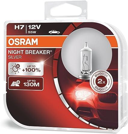 Osramh7 Night Breaker Duobox 55 W 2 pcs. 64210nb-hcb