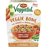 Del Monte Veggieful Asian Style Soy Sesame Veggie Bowl - 7.4 OZ Bowls (Pack Of 12)