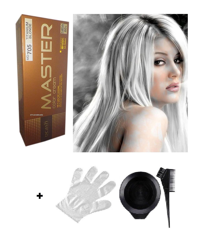 Dcash Haarfarbe Titanium Blonde Mg705 Für Kurzhaar