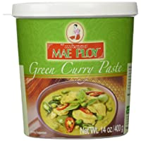 Mae Ploy Thai Green Curry Paste - 14 oz jar