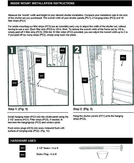 "Basic Wood DIY Interior Shutter Kits 28/"" W"