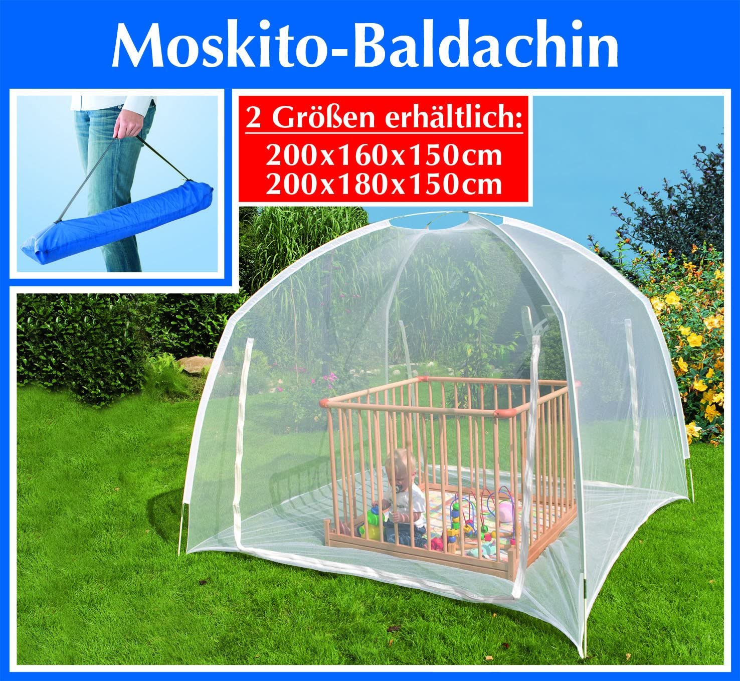 Festnight Mongolei Netz Moskitonetz Insektenschutz Insektenschutznetz M/ückennetz mit 2 /Öffnungen 200 x 150 x 145 cm Wei/ß