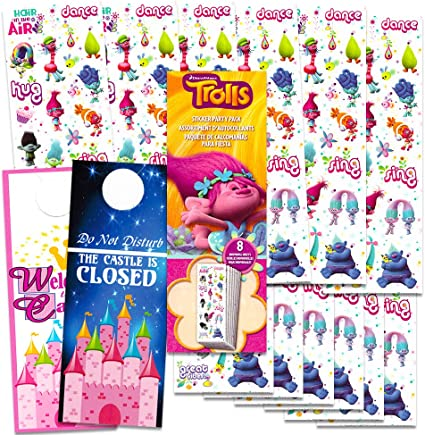SPARKLE STICKERS Pack Childrens Licensed Characters Fun Birthday Party Gifts