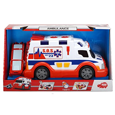 Dickie Toys Light and Sound Ambulance Vehicle: Toys & Games