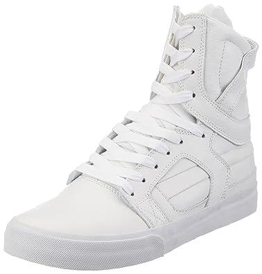 new style f15a1 b6a83 Supra Skytop II Hi Skateboarding Shoes Men size 12 WW White