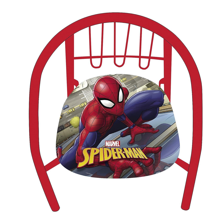 Arditex SM11590 - Silla de metal, diseño Spiderman Arditex_SM11590