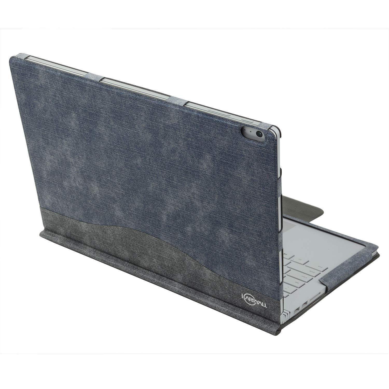 Executive Surface Book Laptop Case, Detachable Protective Flip Case Cover for 13.5 inch Microsoft Surface Book 2
