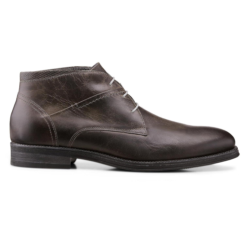 DRIEVHOLT Herren Freizeit Stiefelette Grau dunkel  Billig und erschwinglich Im Verkauf
