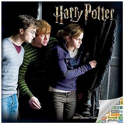 Harry Potter Calendario 2020 - Calendario de pared de Harry ...